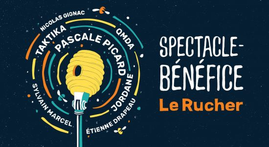 Spectacle-Bénéfice Le Rucher
