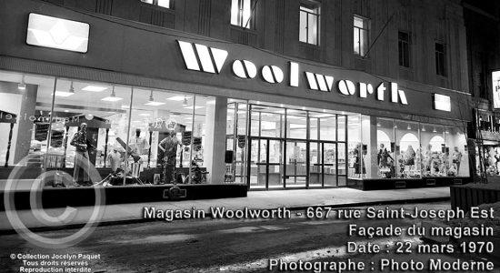 Saint-Roch dans les années 1970 (33): réouverture du magasin Woolworth - Jean Cazes