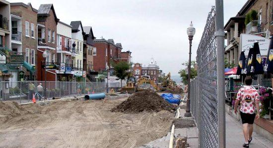 Avenue Cartier : un chantier en plusieurs temps dès le printemps - Suzie Genest