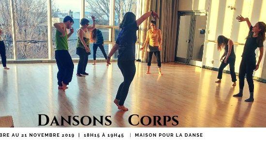 Dansons Corps   Automne 2019