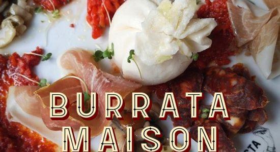 Burrata maison | Birra & Basta