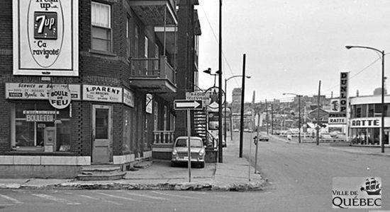 Limoilou dans les années 1960 (112) : intersection commerciale de la 2e Rue et de la 3e Avenue - Jean Cazes
