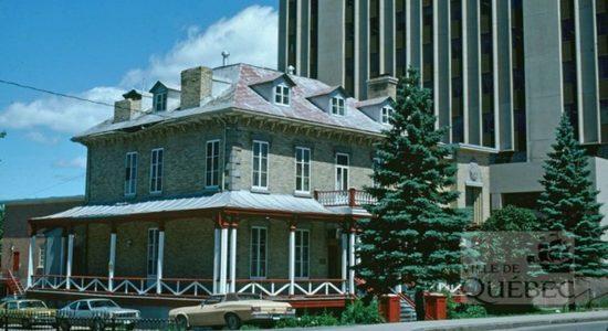 Montcalm dans les années 1970 : la Villa Mountaine-Kirouac - Jean Cazes