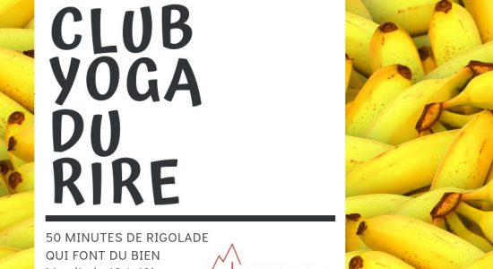 Club yoga du rire de Sherpa