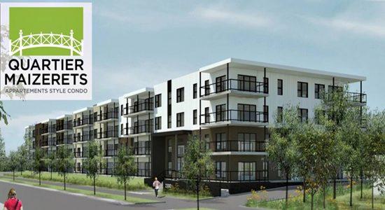 AXCÈS Trigone Quartier Maizerets : 98 condos locatifs livrés à l'été 2020 - Jean Cazes