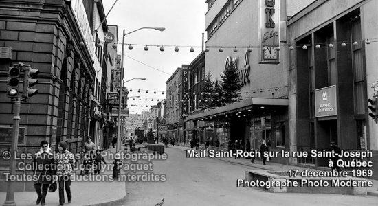 Saint-Roch dans les années 1960 (37) : le mail Saint-Roch avant son toit - Jean Cazes