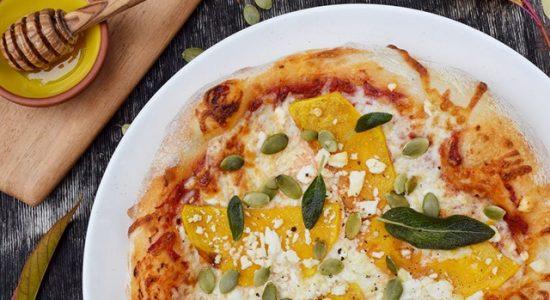 Pizza du mois d'octobre: La Courge Musquée | Milano Pizzeria