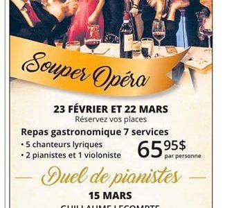 Soirées Opéra du dimanche