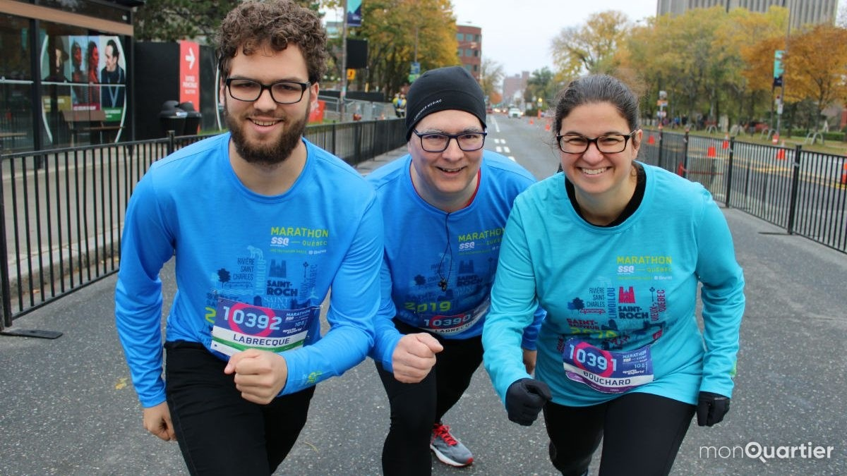 Une mosaïque de participants au Marathon SSQ | 14 octobre 2019 | Article par Véronique Demers