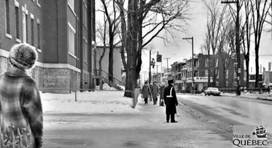 Limoilou dans les années 1960 (119) : un agent de circulation sur la 1re Avenue - Jean Cazes