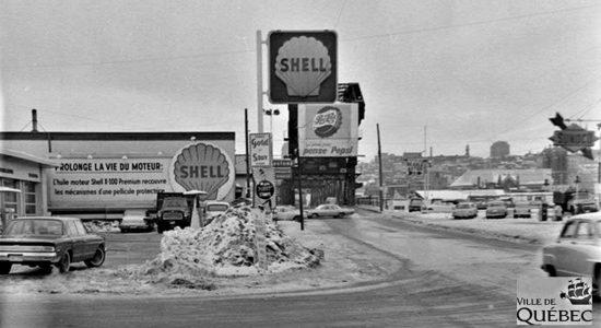 Limoilou dans les années 1960 (116) : une station-service Shell - Jean Cazes