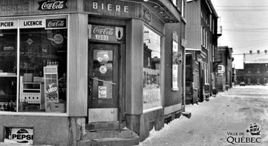 Saint-Sauveur dans les années 1960 (31) : l'épicerie A. Marcotte - Jean Cazes