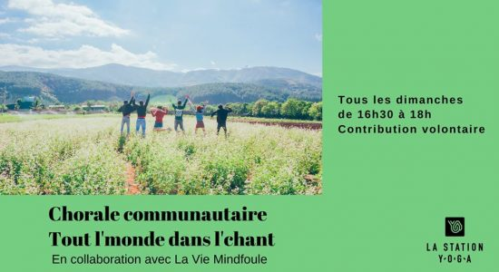 Chorale communautaire – Tout l'monde dans l'chant