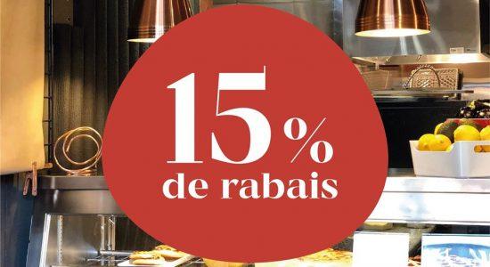 15% de rabais pour votre prochain achat chez Il Cuginetto