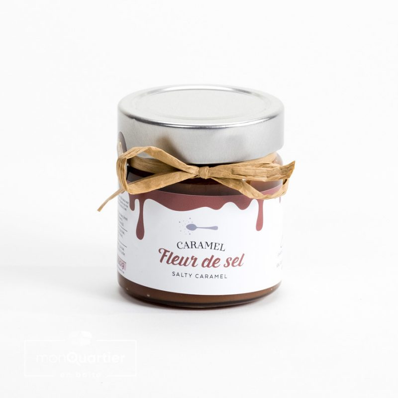 Tartinade caramel fleur de sel