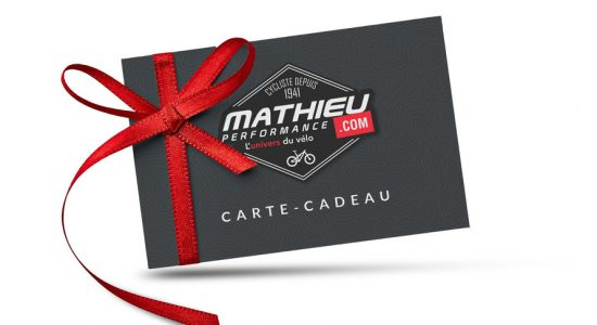 Carte-cadeau Mathieu Performance