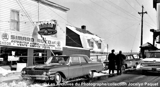 Limoilou dans les années 1960 (121) : commerce Simard Auto Parts - Jean Cazes