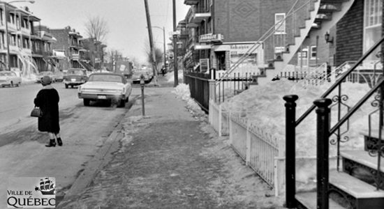 Limoilou dans les années 1960 (120) : trottoir de la 3e Avenue - Jean Cazes