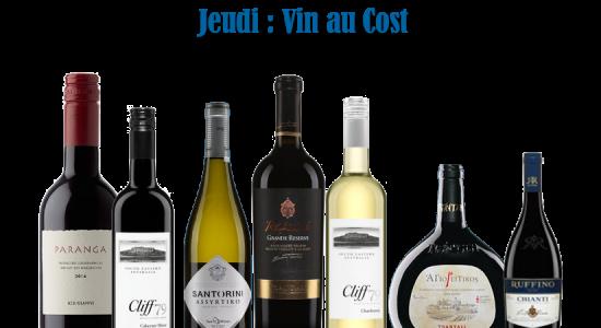 Jeudi vin au cost