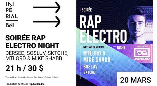 Soirée Rap-Electro Night