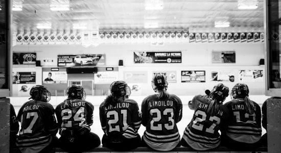 Hockey féminin au Cégep Limoilou: le défi de rester au sommet - Christian Lemelin