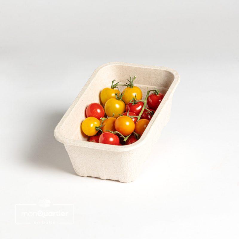 Tomates cerises gustatives multicolores