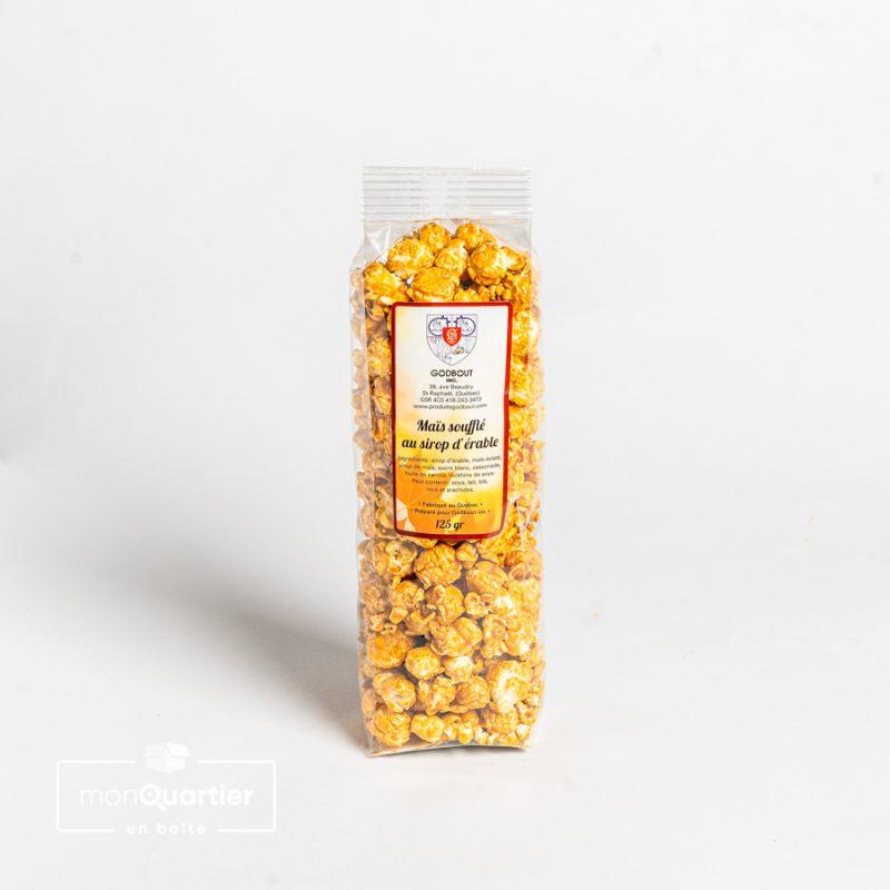 Pop corn à l'érable