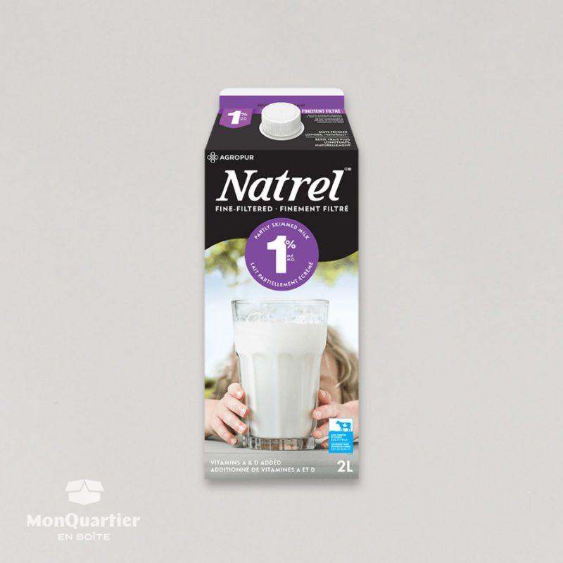 Lait Natrel 1%