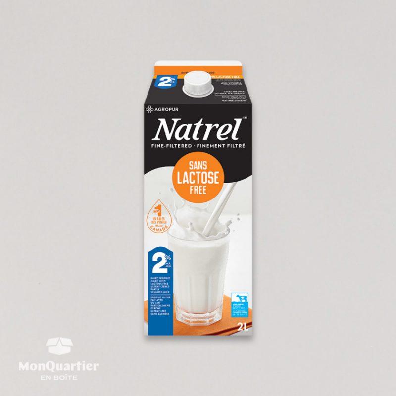 Lait Natrel sans lactose 2%