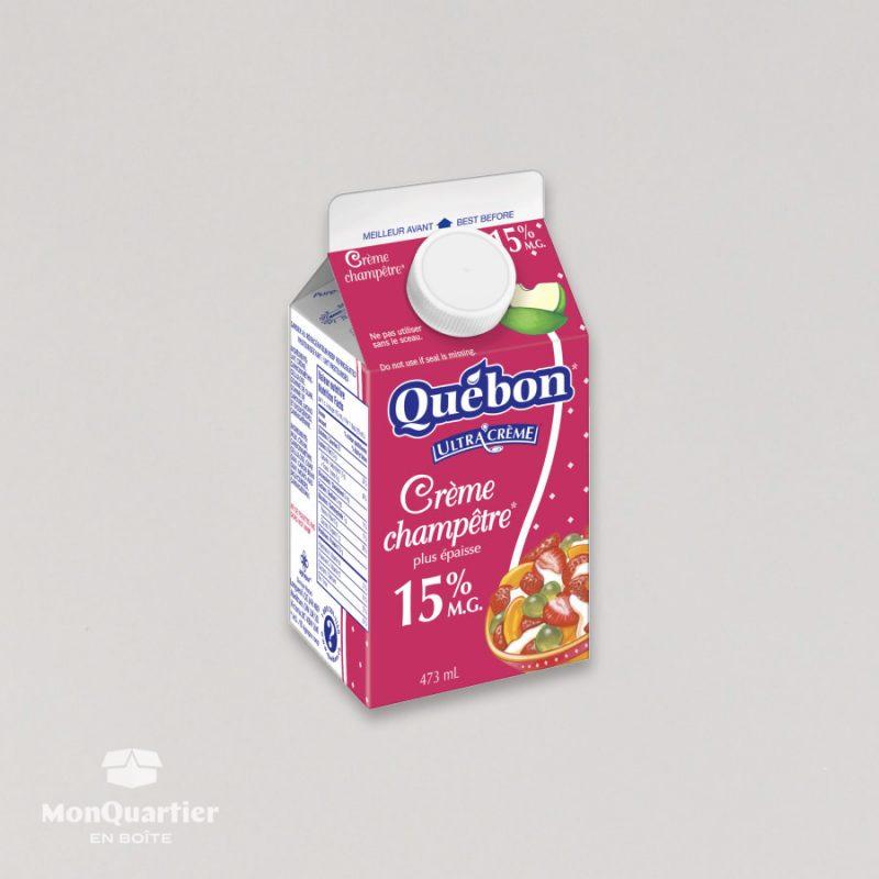 Crème champêtre 15%