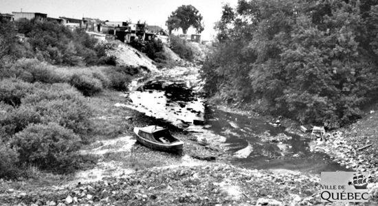 Chronique d'une rivière disparue : Enquête du département de la santé et projet de canalisation dans les années 1940 - Réjean Lemoine