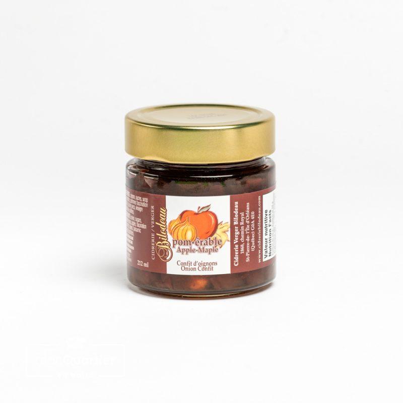 Confit d'oignon Pom-érable