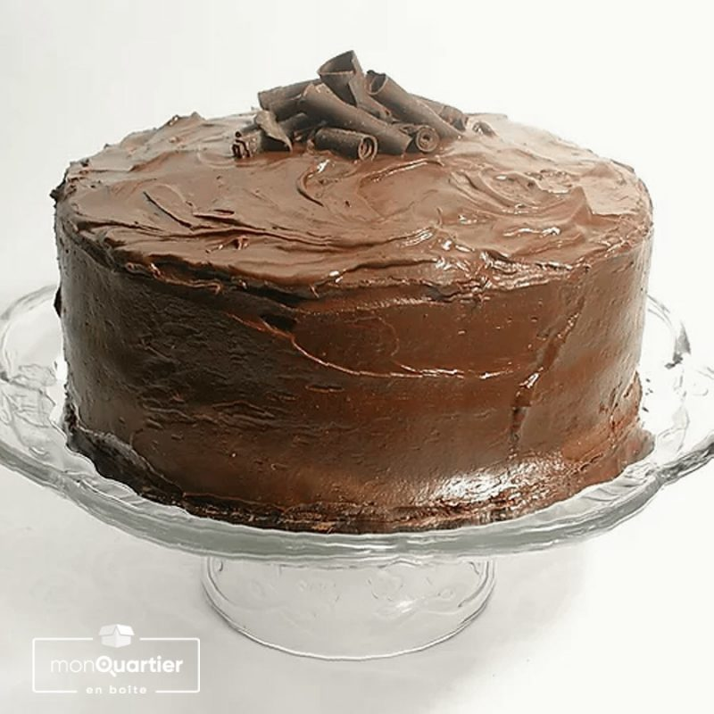 Gâteau classique au chocolat