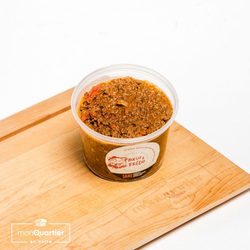 Sauce à spaghetti au bœuf Wagyu et vin rouge