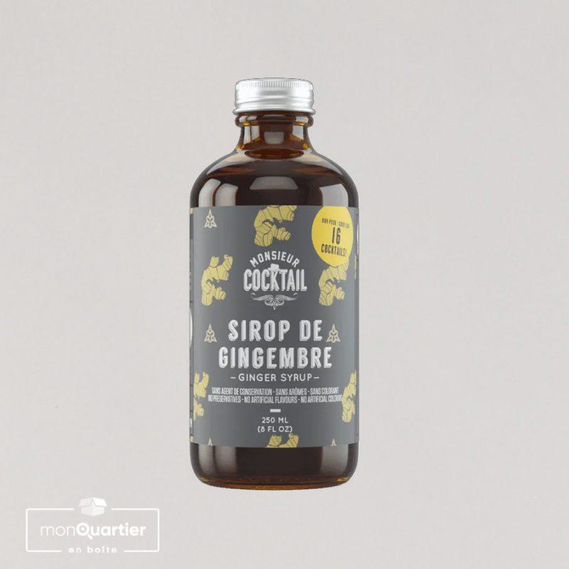 Sirop de gingembre