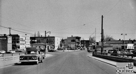 Limoilou dans les années 1960 (129) : intersection 4e Rue et 1re Avenue - Jean Cazes
