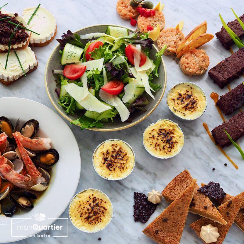 Boîte gastronomique de L'Échaudé