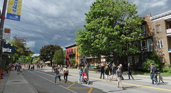 Report des échéances pour le paiement des taxes et retour des rues piétonnes - Julie Rheaume