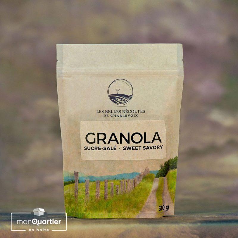 Granola sucré-salé