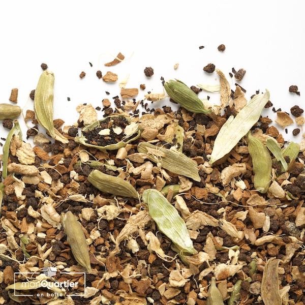 Chai Camellia biologique