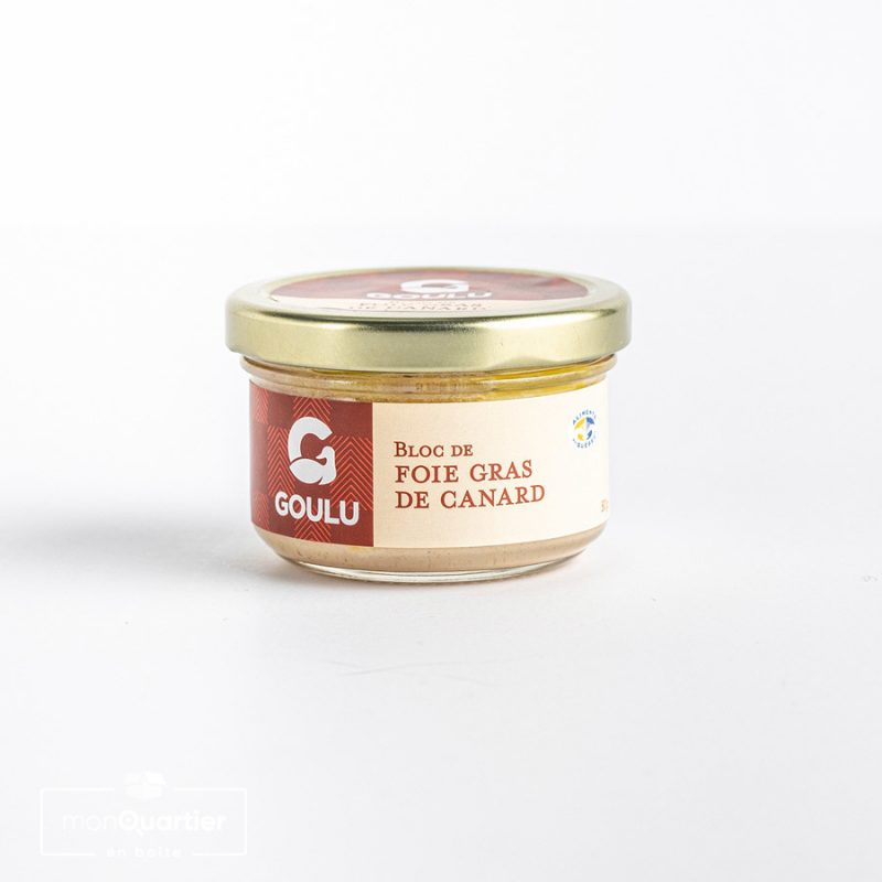 Bloc de foie gras nature