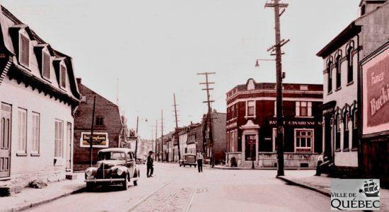 Saint-Sauveur dans les années 1940 (28) : intersection Saint-Vallier et Marie-de-l'Incarnation - Jean Cazes