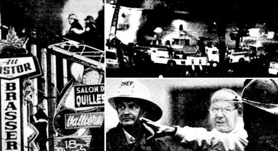 Limoilou dans les années 1980 (19): l'incendie du salon de quilles Vallières - Jean Cazes