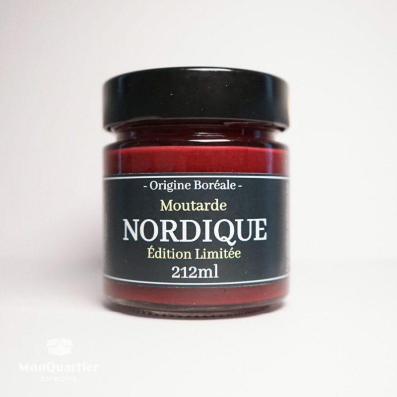 Moutarde aux petits fruits nordiques