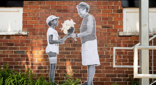 Une murale pour le verdissement citoyen dans la ruelle du Grand Peuplier - Suzie Genest