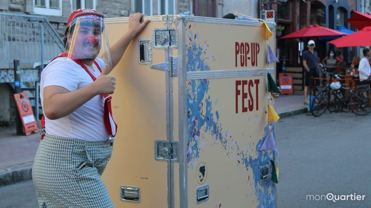 Le Pop Up Fest met du <em>pep</em> sur les rues piétonnes de Québec | 19 août 2020 | Article par Véronique Demers