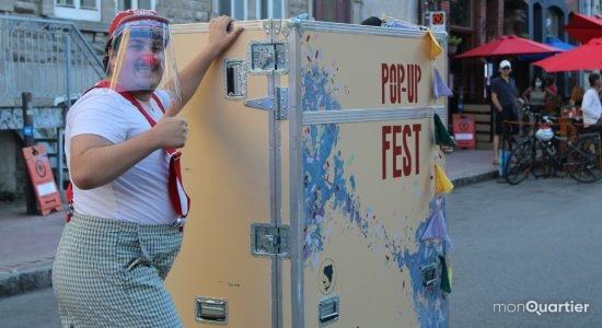 Le Pop Up Fest met du <em>pep</em> sur les rues piétonnes de Québec - Véronique Demers