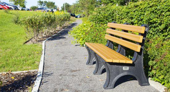Nouveau sentier aménagé près de l'Hôpital du Saint-Sacrement : un pas de plus dans la promenade du coteau - Suzie Genest
