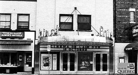 Limoilou dans les années 1970 (45) : le cinéma Lairet - Jean Cazes