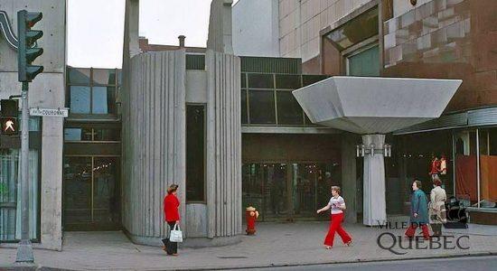 Saint-Roch dans les années 1970 (36) : l'entrée principale du mail Saint-Roch - Jean Cazes